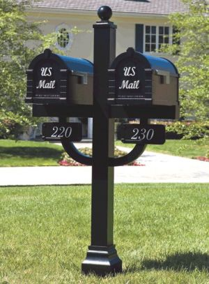 signature-keystone-series-mailbox---deluxe-double-mount-post-packages