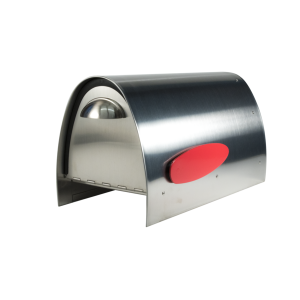 Spira Postbox Unique Post Mount Mailbox without Newspaper Holder - Stainless Steel
