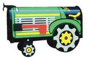 Tractor Novelty Mailbox