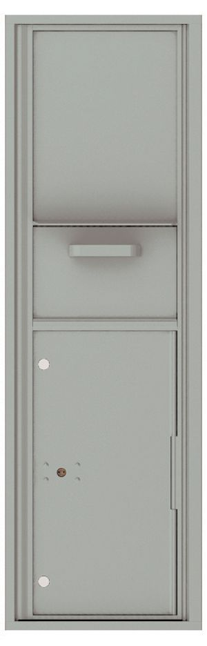 usps approved Front Loading Single Column Mailbox Collection Drop Box with Pull Down Hopper - 4C15S-HOP