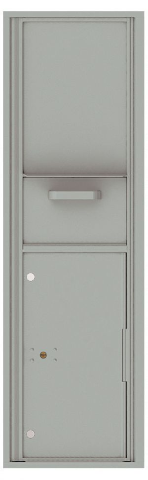 usps approved Front Loading Single Column Mailbox Collection Drop Box with Pull Down Hopper - 4C16S-HOP
