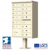 13 Door USPS Approved Cluster Mailbox