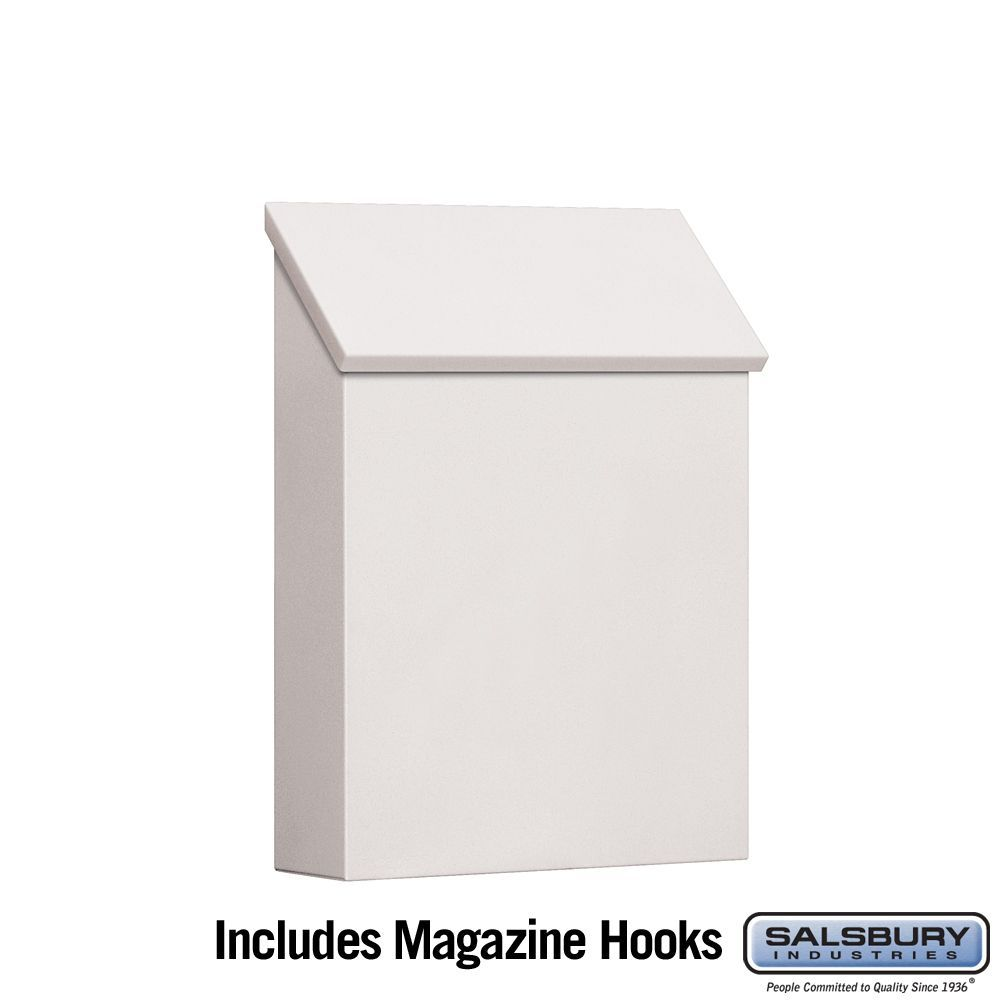 Salsbury 4620 Traditional Mailbox Standard Vertical Style