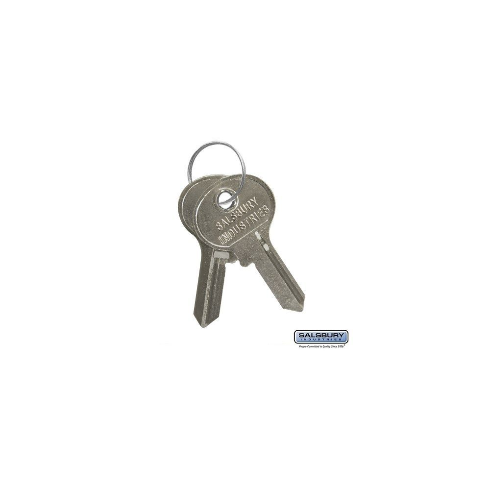 Key Blanks  for Key Padlocks of Metal Lockers Box of (50)