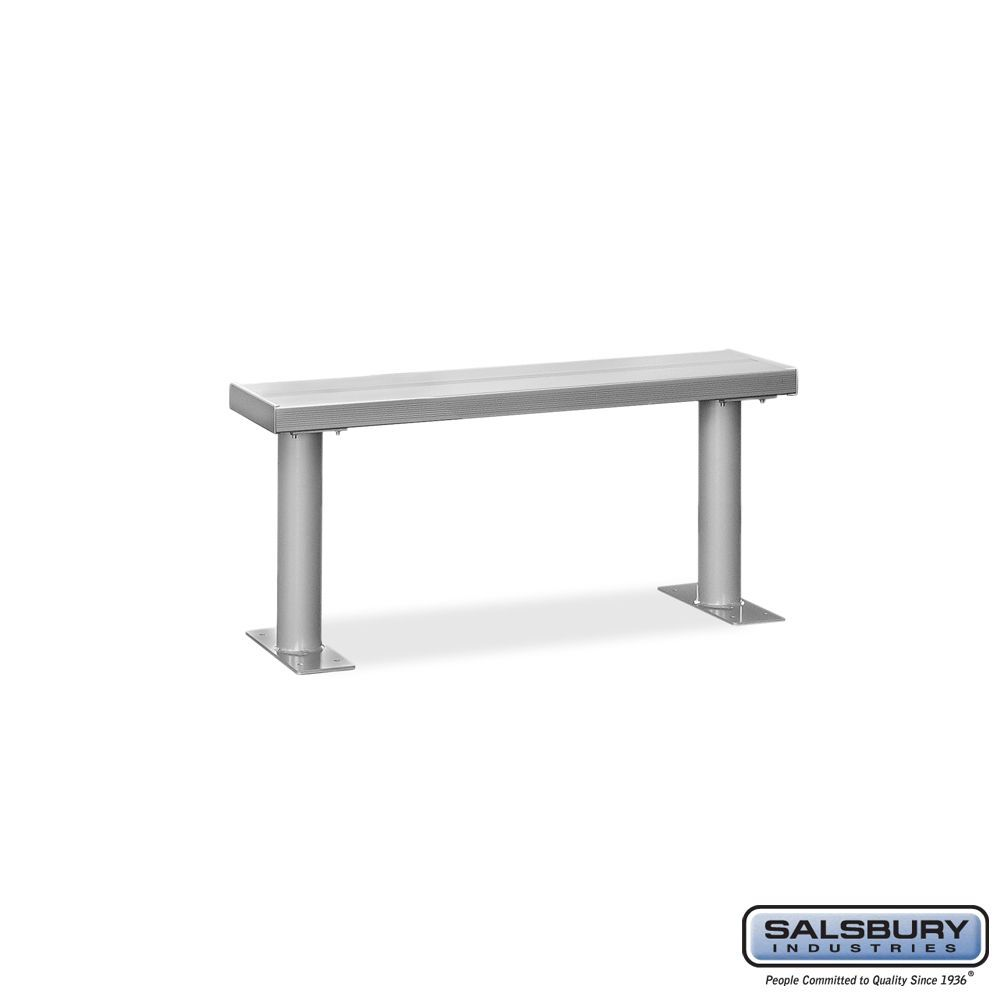 Aluminum Locker Benches - 48 Inches Wide