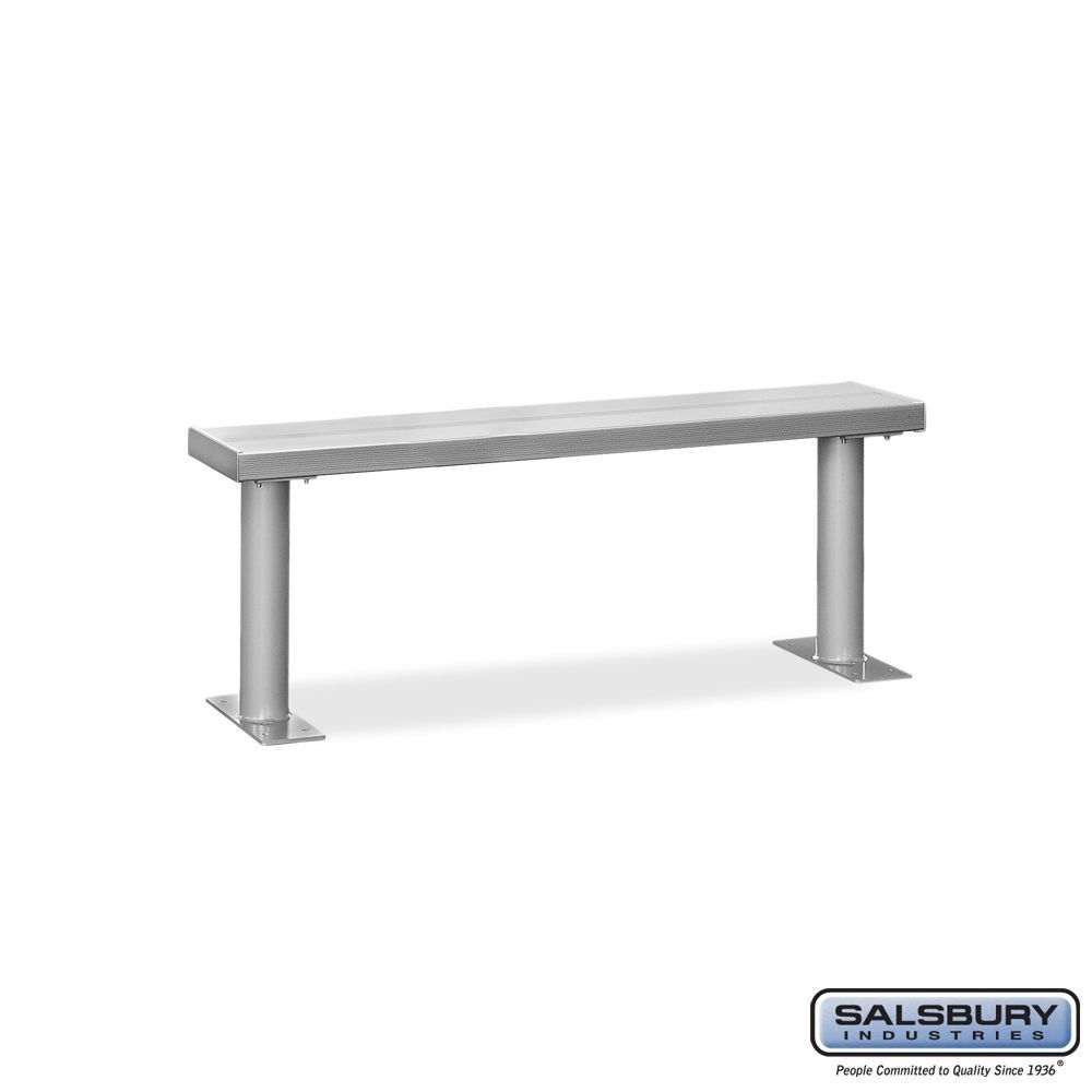 Aluminum Locker Benches - 60 Inches Wide