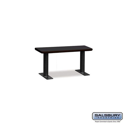 Designer Wood Locker Benches - 36 Inches Wide - Choose Color