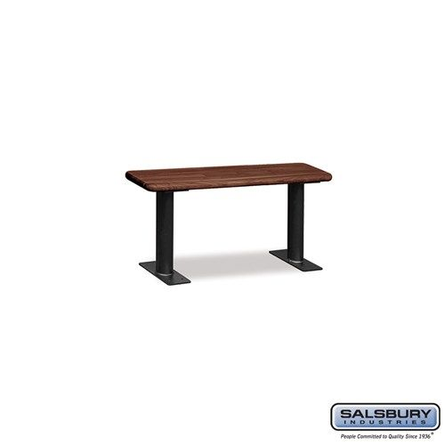 Wood Locker Benches - 36 Inches - Choose Color