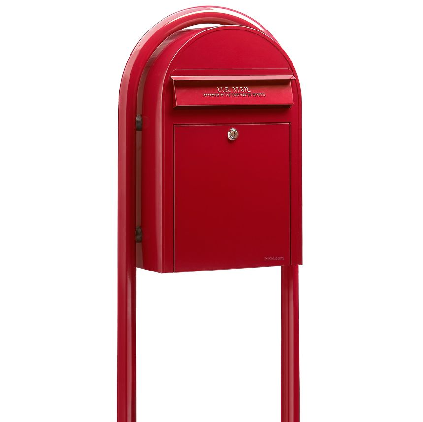 USPS Bobi Classic Front Access Mailbox (Post Included)