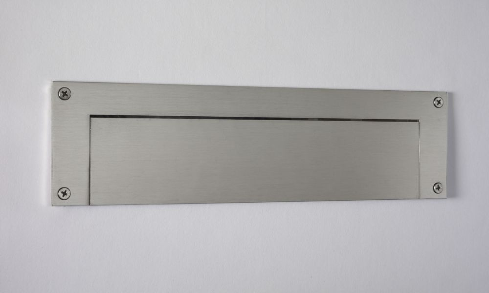 Stainless Steel Contemporary Door Mail Slot (small) 11.8