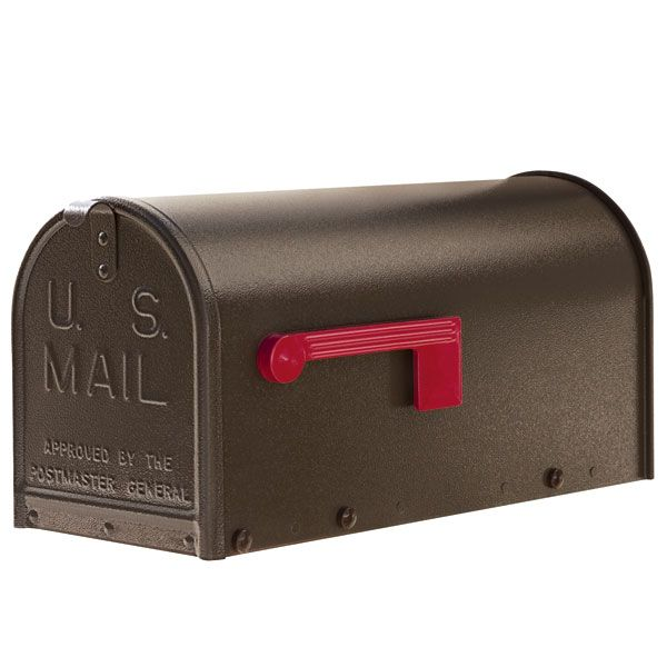 Janzer Residential Mailbox Only - with Optional Post