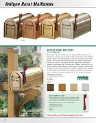 Antique Rural Mailboxes / Deluxe Rural Mailboxes