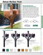 Deluxe Mailbox Posts