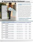 4C Mailbox Enclosures - Free-Standing