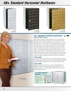 4B+ Standard Horizontal Mailboxes