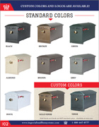 Standard Colors of Mailboxes