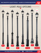 Sample Configuration of Light Poles