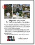 More than curb appeal - the mailbox revolution has begun