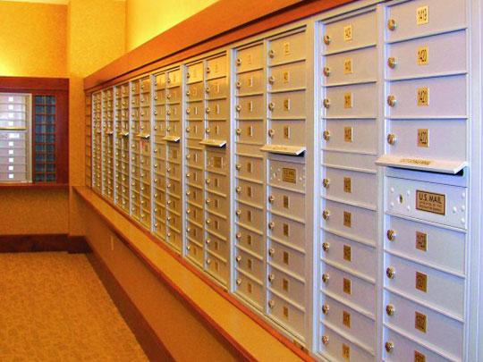Indoor Apartment Mailboxes
