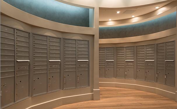 Recessed Lobby Mailboxes ( 4C Horizontal )