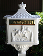 Amco Decorative Residential Mailbox and Post