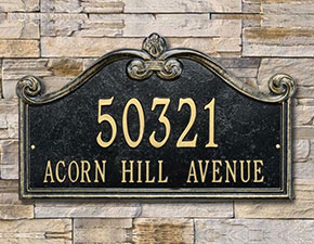 Wall Address Plaque