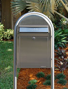 Bobi Modern Residential Mailbox Post Included
