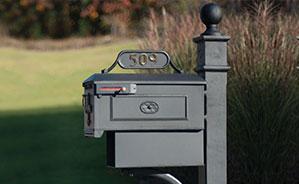 Cast Aluminum Residential Mailboxes