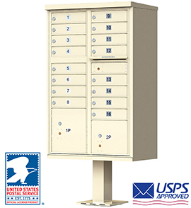 Apartment Cluster Mailboxes