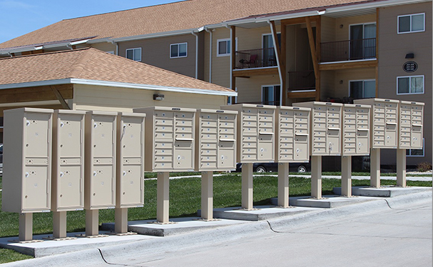 Outdoor Cluster Mailboxes