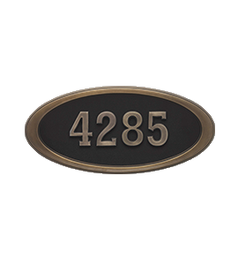 Address Plaques