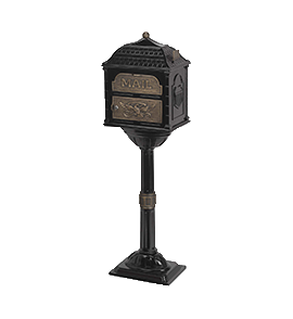 Classic Mailboxes and Pedestals