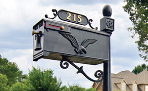 Imperial Cast Aluminum Residential Mailboxes