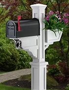 Mayne Post Residential Mailbox Post