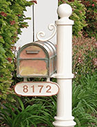 Streetscape Copper Style Residential Mailboxes