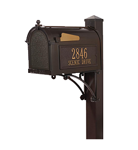 Curbside Mailbox and Post Combos