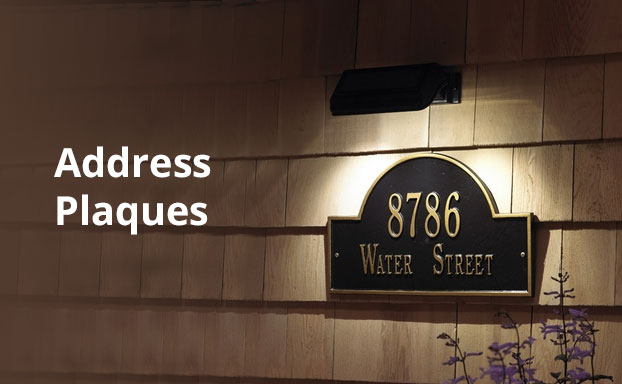 address-plaques
