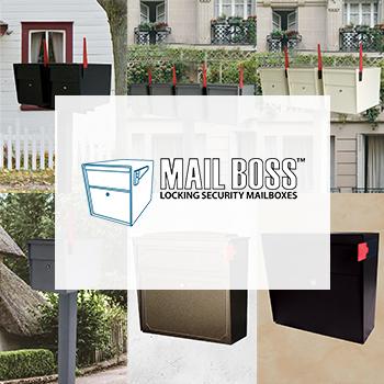 Mailboss Locking Mailboxes