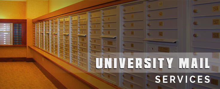 University Mailboxes