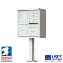 Commercial Cluster Mailboxes Black