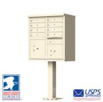 Commercial Cluster Mailboxes Sandstone