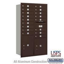 Rear Loading 4C Mailbox Maximum Door Height