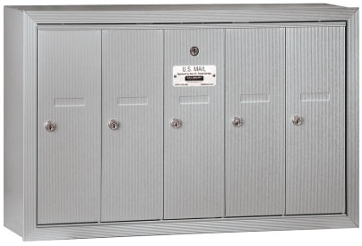 Overview of Salsbury 4B+ Vertical Mailboxes