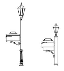 Imperial-mailboxlampost